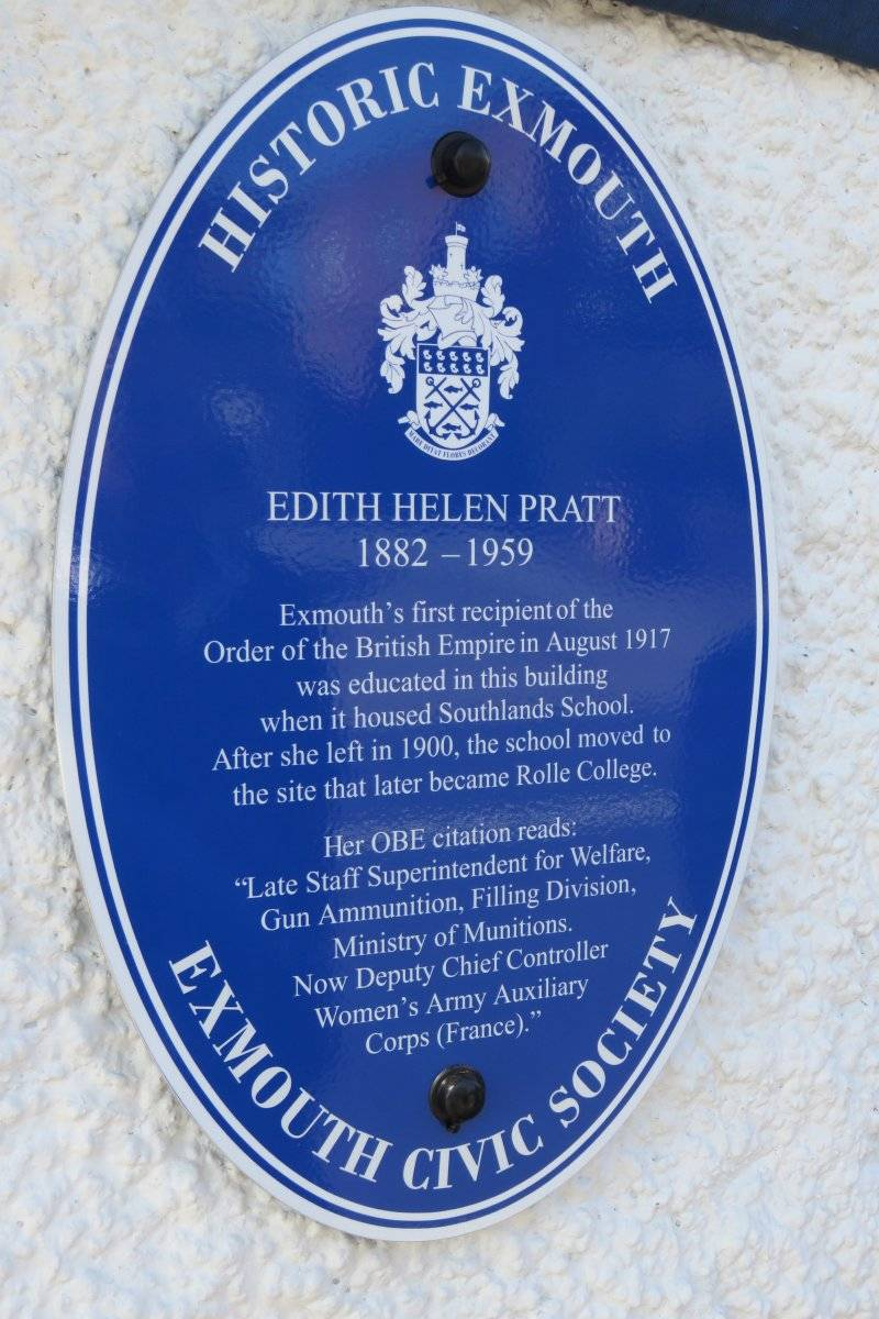 Exmouth's Blue Plaque Heritage Trail - Including the Swallows B&B!