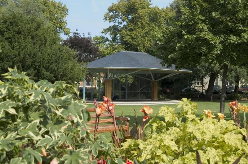 Manor Gardens outdoor stage